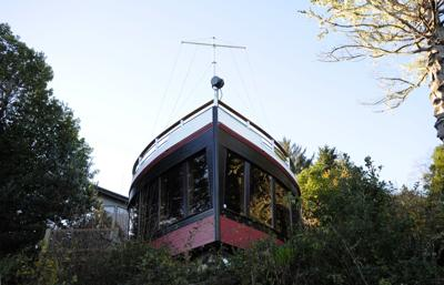 "Inside ""The Boat House"""