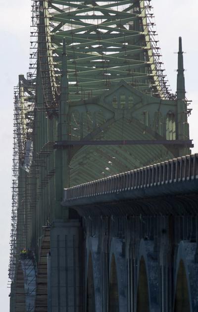 McCullough Bridge Work