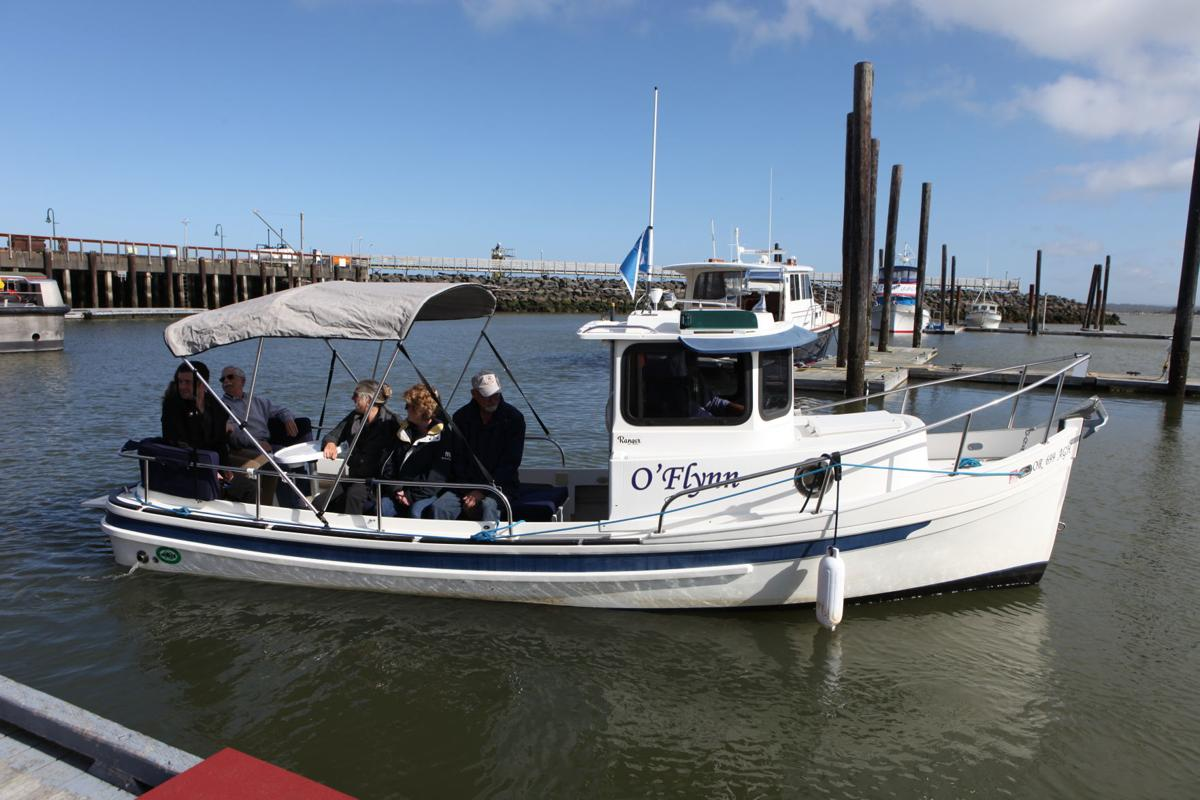 Coquille River boat tours aboard the O'Flynn