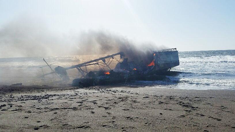 Shipwreck south of Bandon
