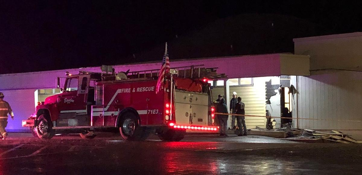 Fire at Harbor Lights Middle School in Bandon