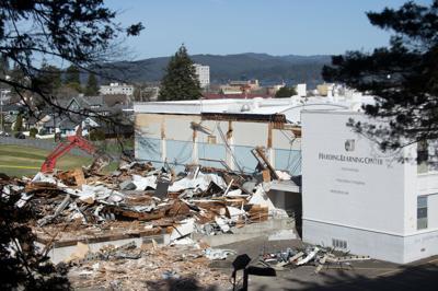 Harding Building Demolition