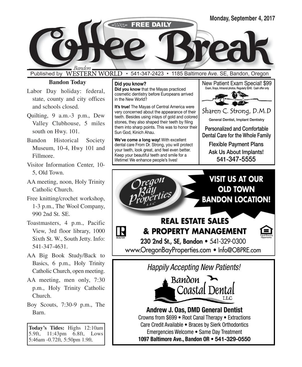 Sept. 4, 2017 Coffee Break.pdf