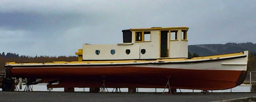 Coos Bay historic boat