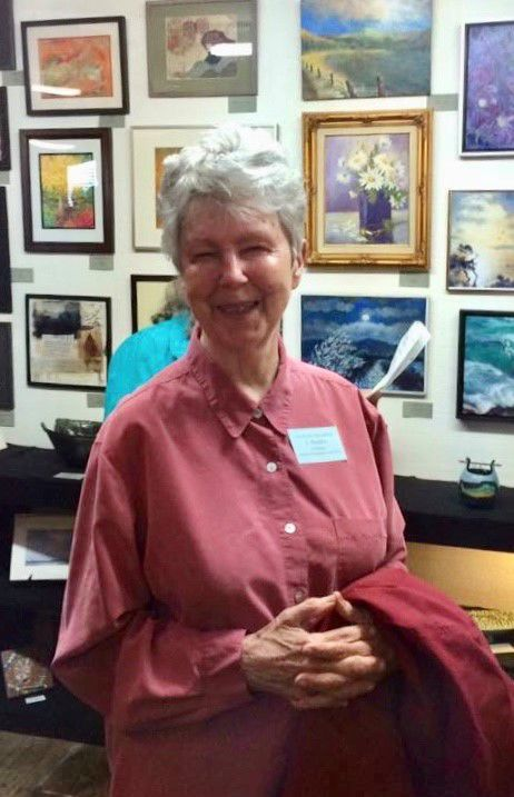 Joan Madden, Art by the Sea Gallery's featured artist for October