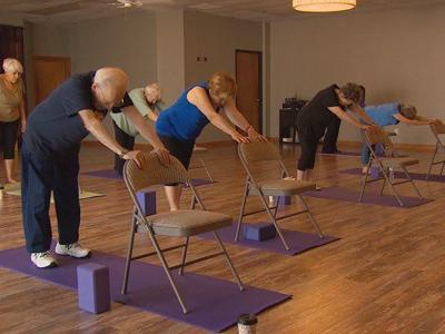 Chair yoga offered at Bandon Senior Center
