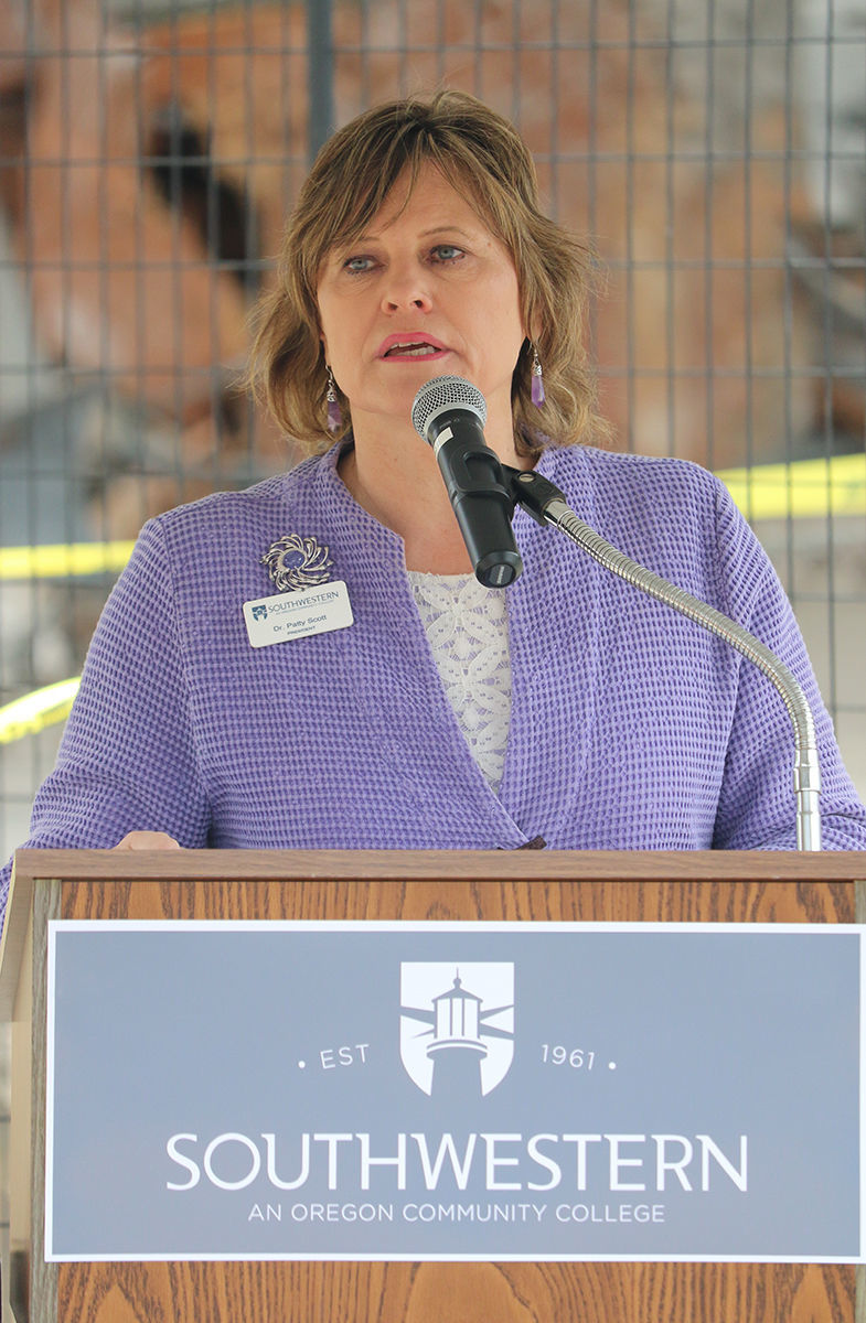 Dr. Patty Scott, Southwestern Oregon Community College