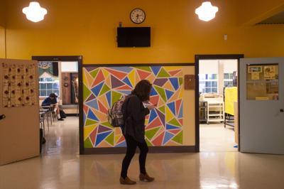 North Bend High School Hallway Displays