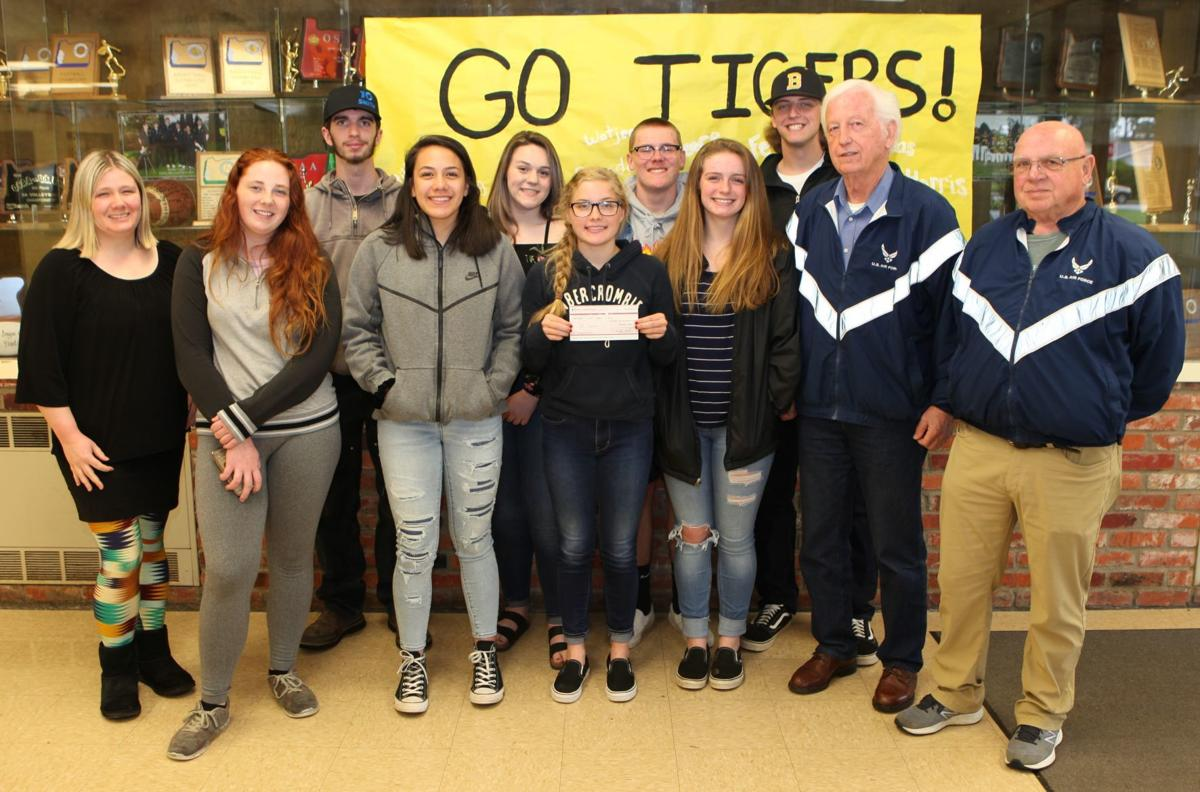 BHS students raise funds for Veterans Memorial