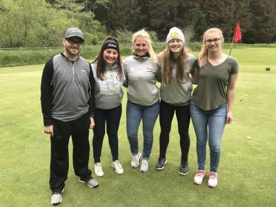 North Bend Golf team