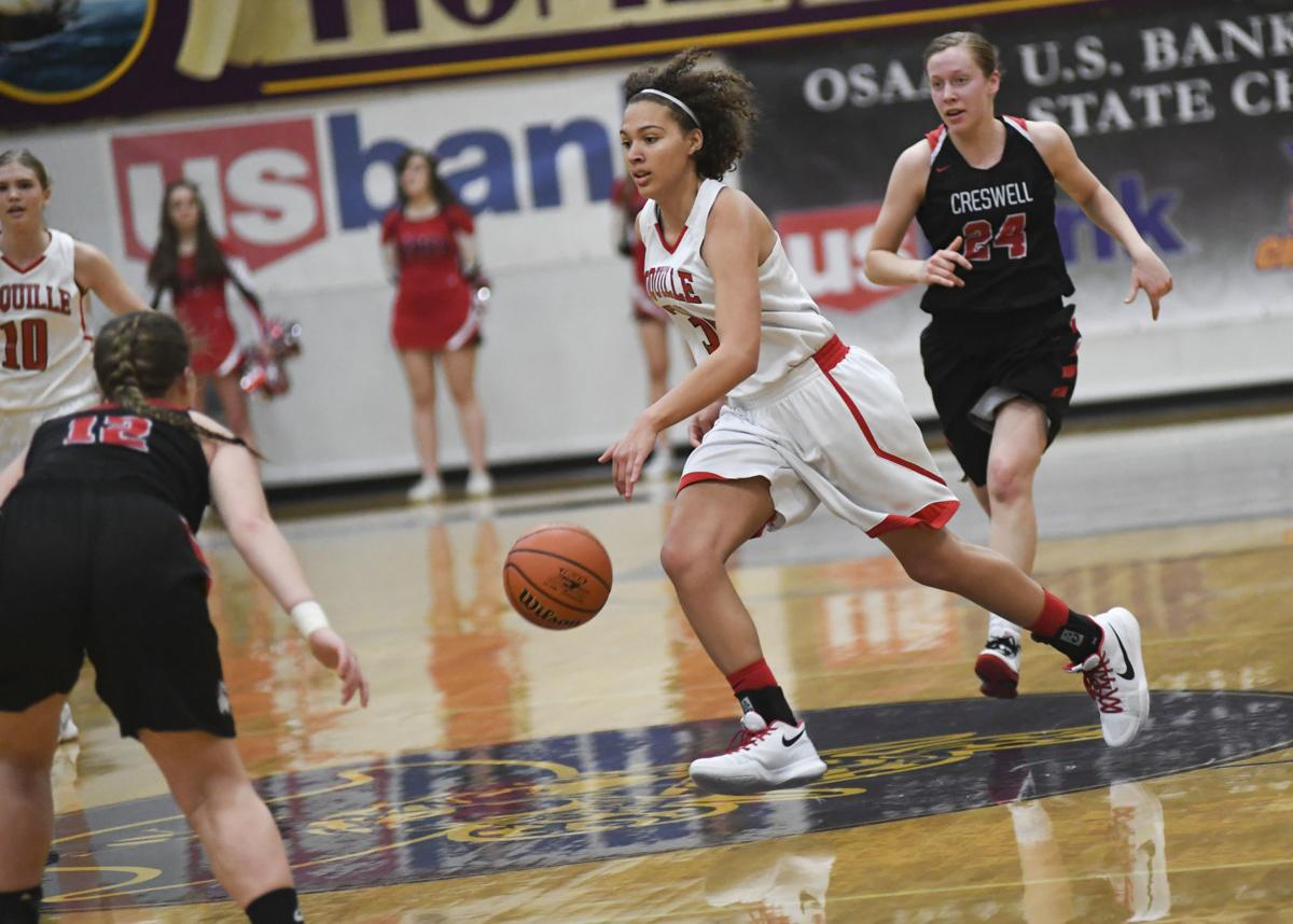 Coquille vs. Creswell 3A Girls Consolation