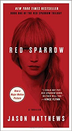 Red Sparrow by Jason Matthews, publicity photo