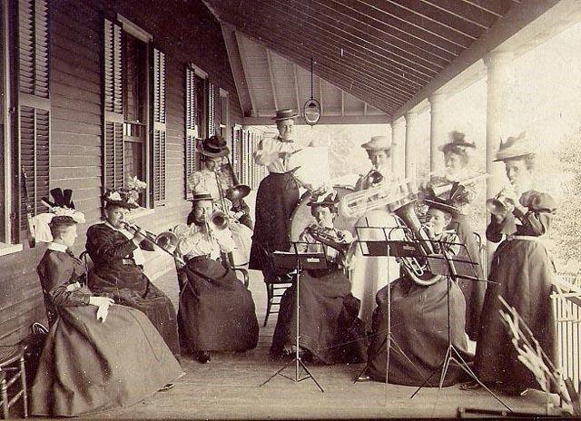 Oldtime musicians....