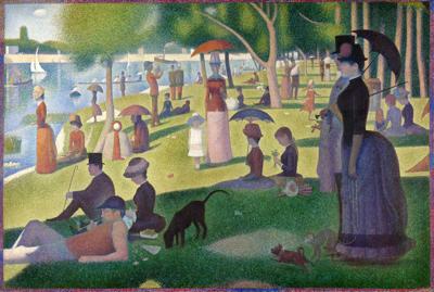 """A Sunday on La Grande Jatte"" by Georges Seurat, 1884"