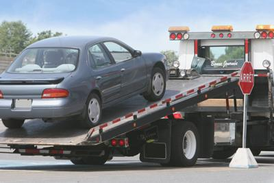 Towing cars