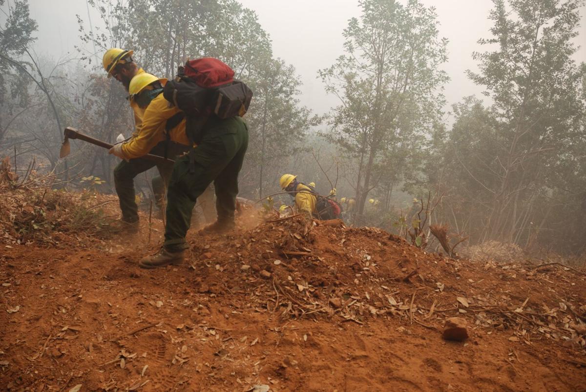 Klondike Fire crews