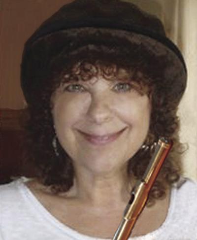 Heidi Connolly with flute