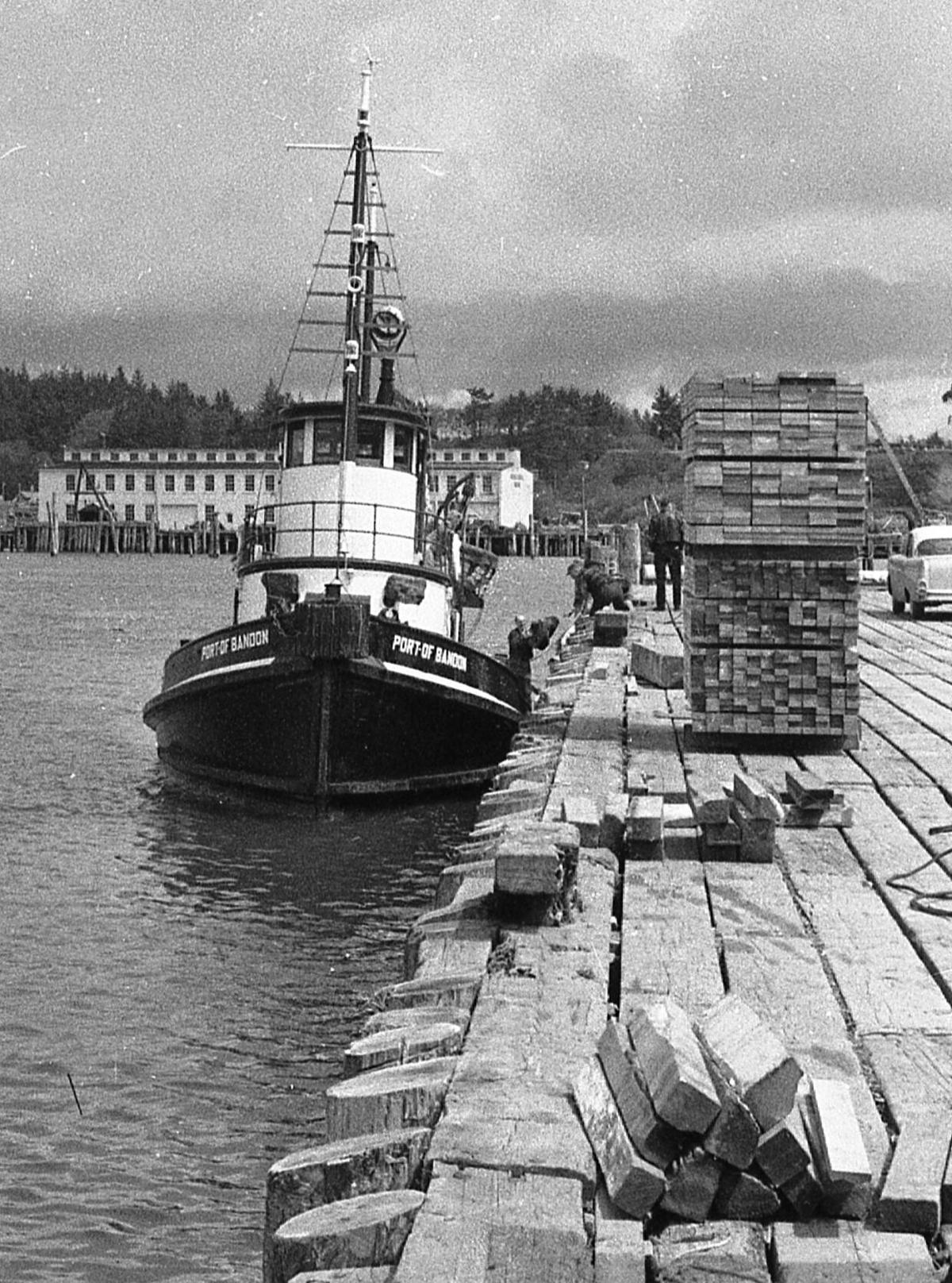 The Port of Bandon tug
