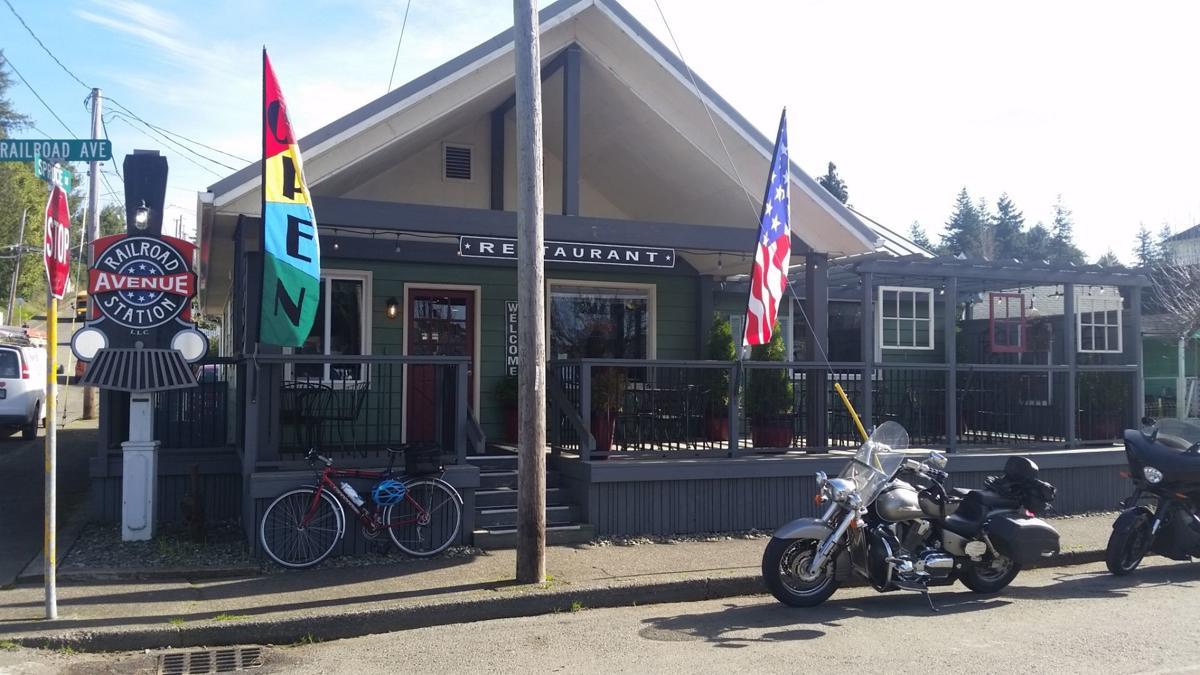 Railroad Cafe, exterior