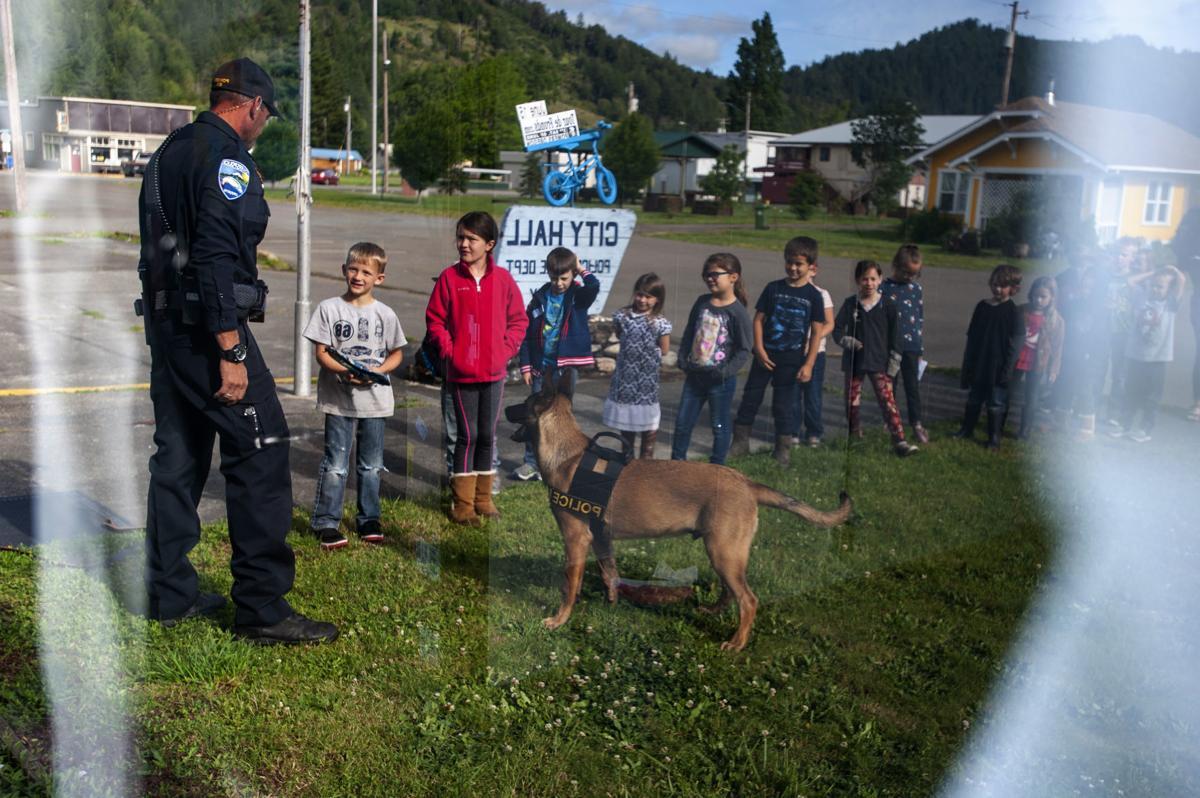 Powers Police Dog