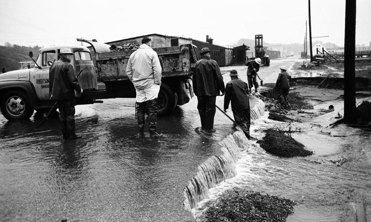 February 1961 flood
