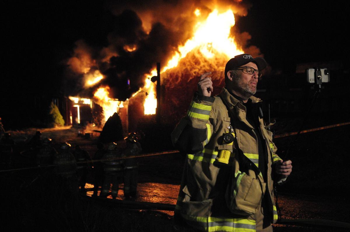 Barn fire Mayor Sam