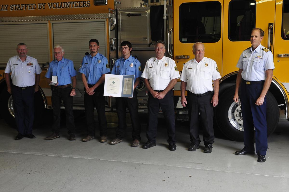 Coast Guard recognition Hauser