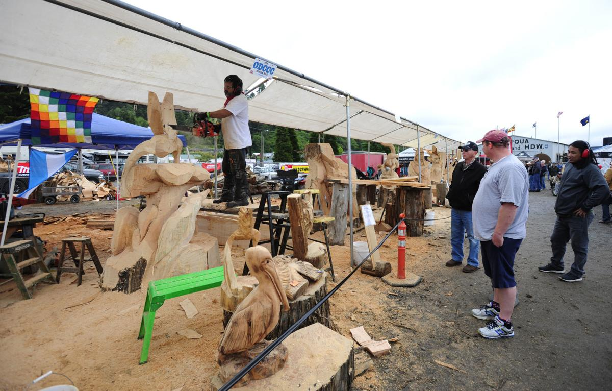 18th Annual Oregon Divisional Chainsaw Carving Championship