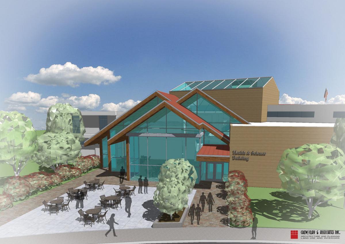 SWOCC Health and Science Building rendering