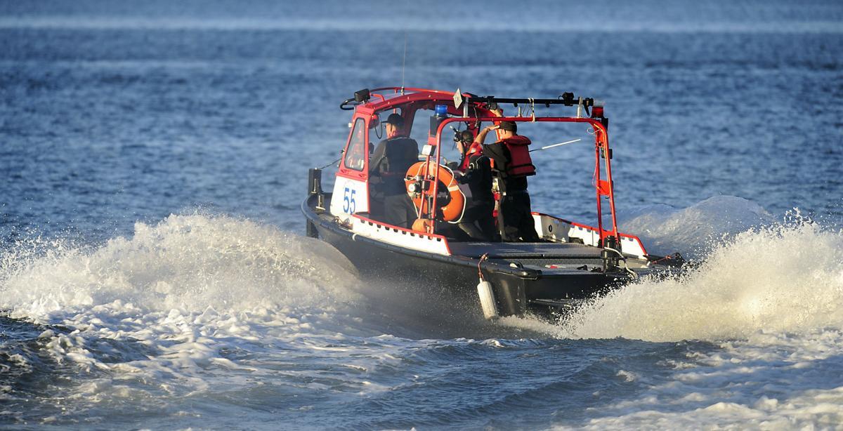 U.S. Coast Guard Boat - WEB ONLY