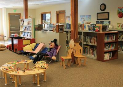 Bandon Library children's area