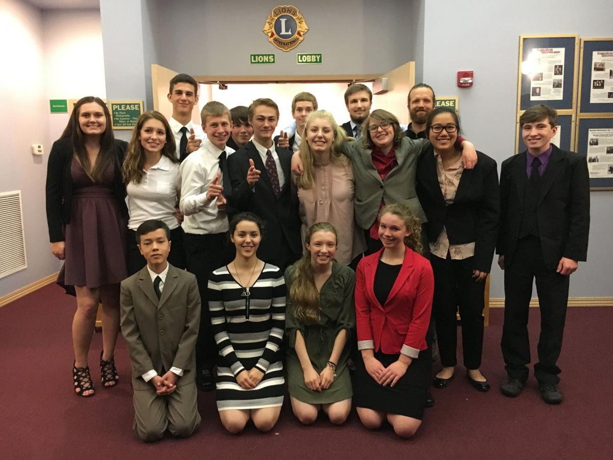 Bandon High School Speech Team