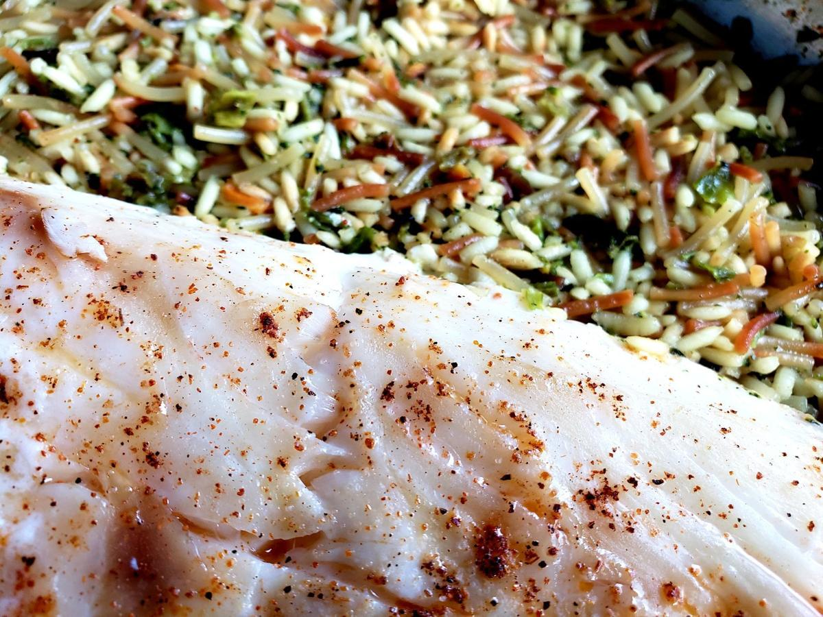 rockfish and rice