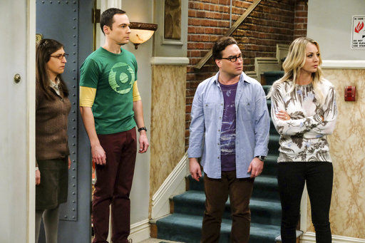 """Big Bang Theory"", CBS via AP photo"