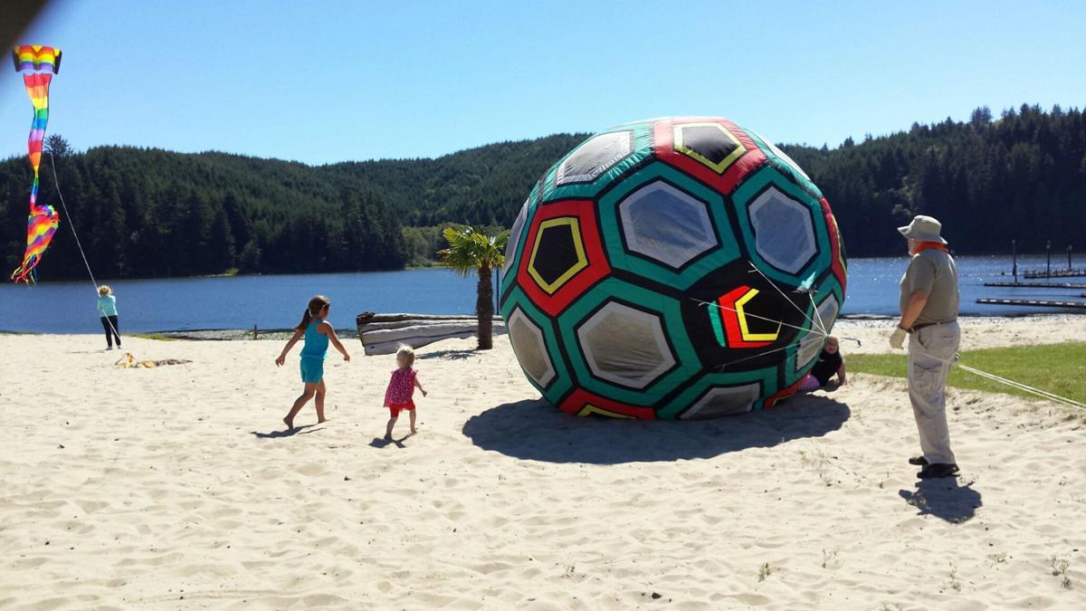 Soccer ball kite