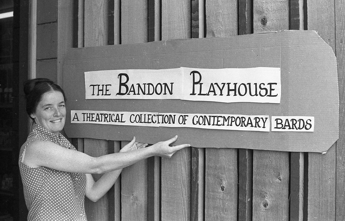 Gail Sprague, Bandon Playhouse, Aug. 1976