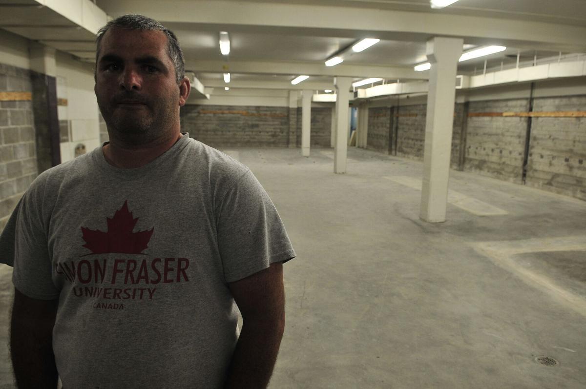 Marshfield wrestling room