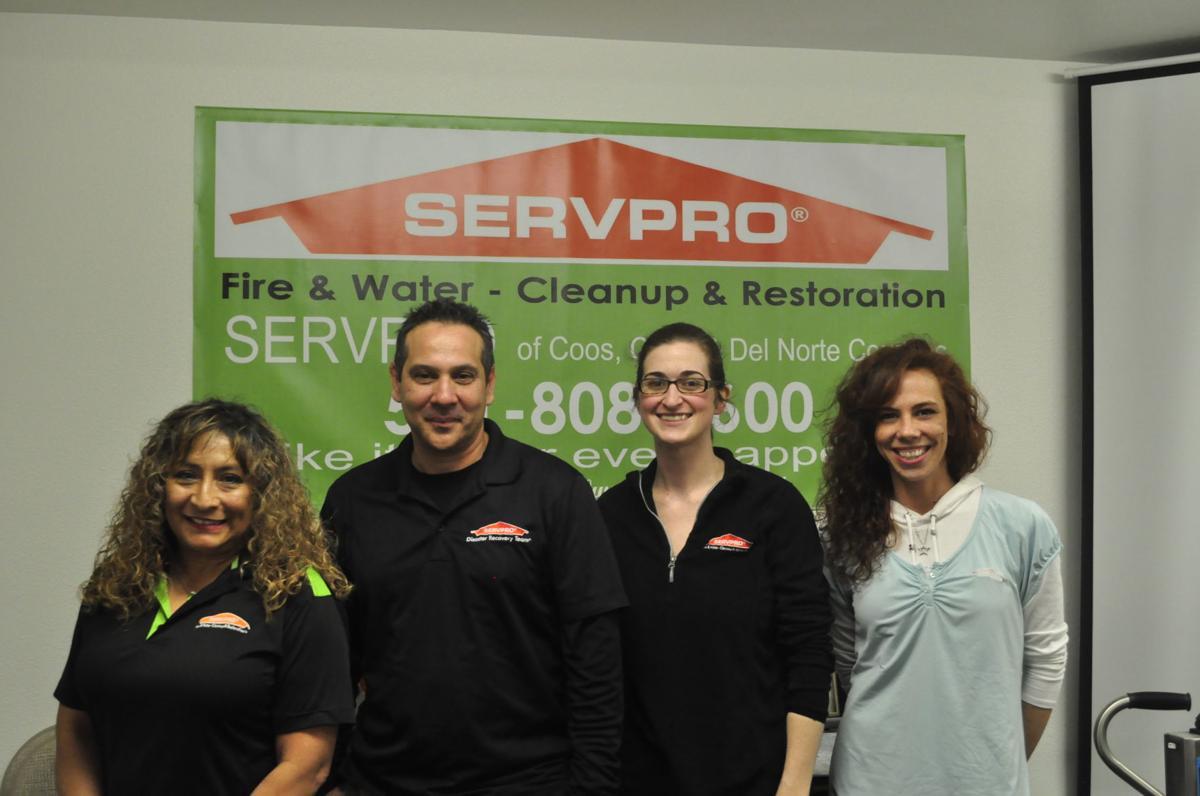 SERVPRO team