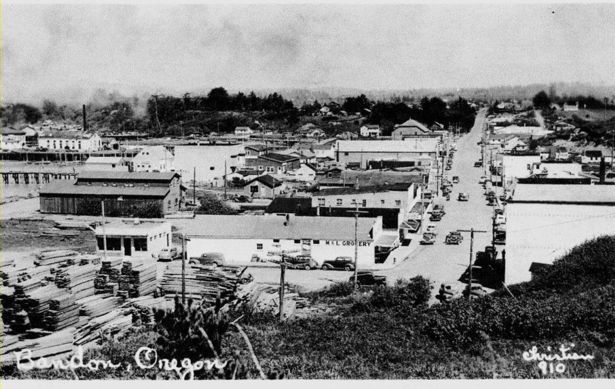Bandon postcard, 1950s