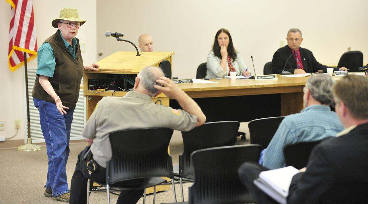 Coos Commissioners and Gun Ordinance