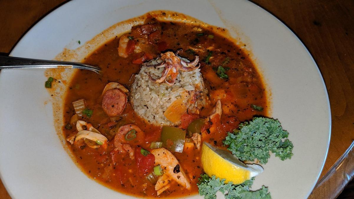 High Tide Seafood Jambalaya