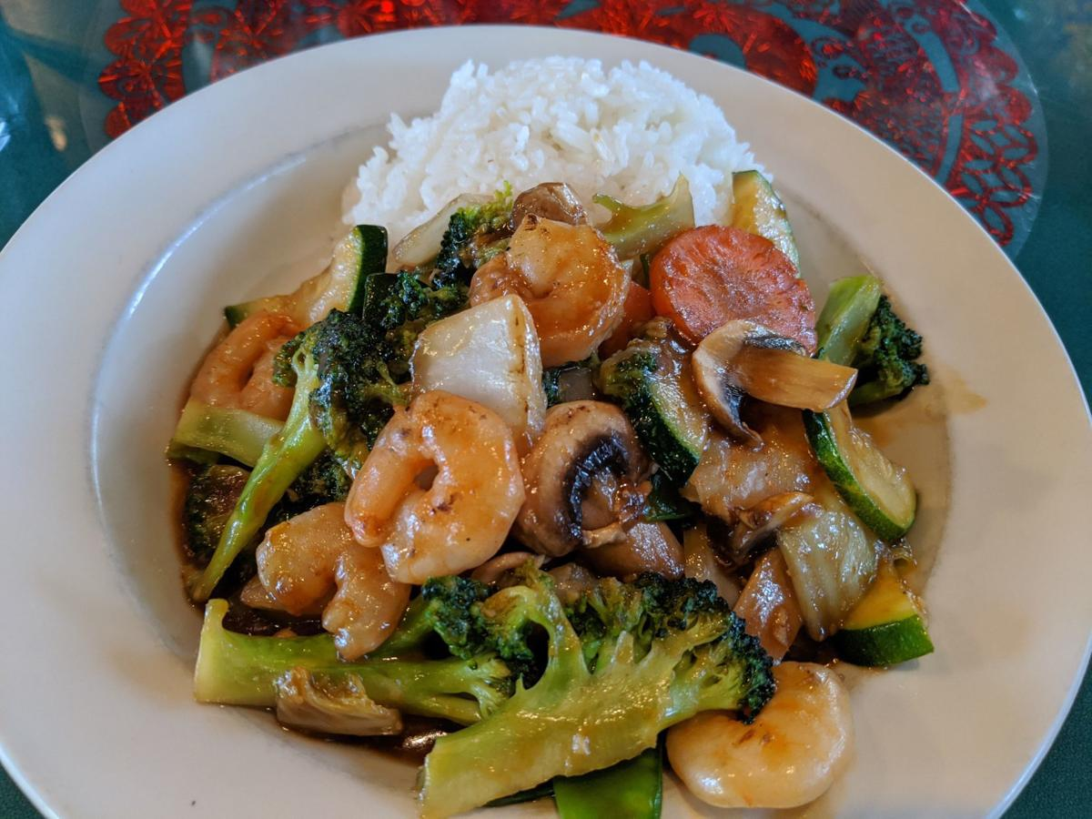kumyon garlic shrimp