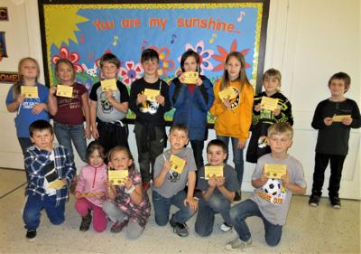 Ocean Crest students 'caught' showing KINDNESS for February