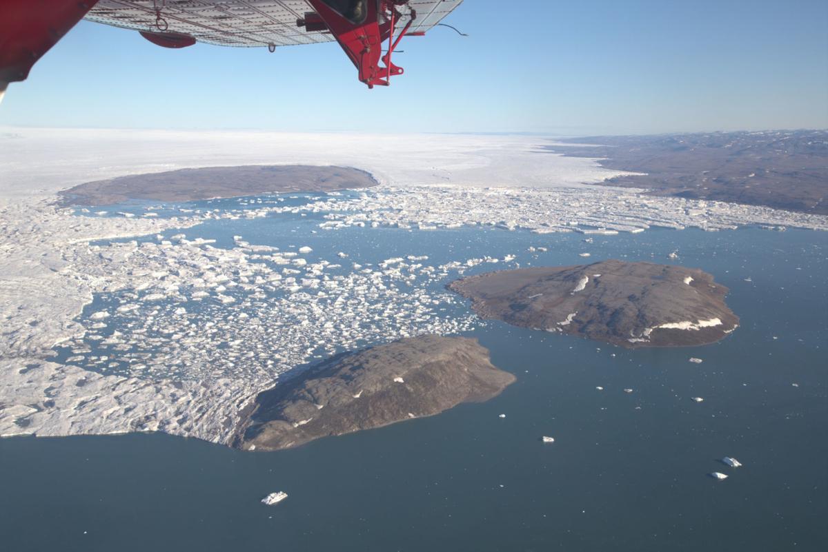 Storstrømmen Glacier