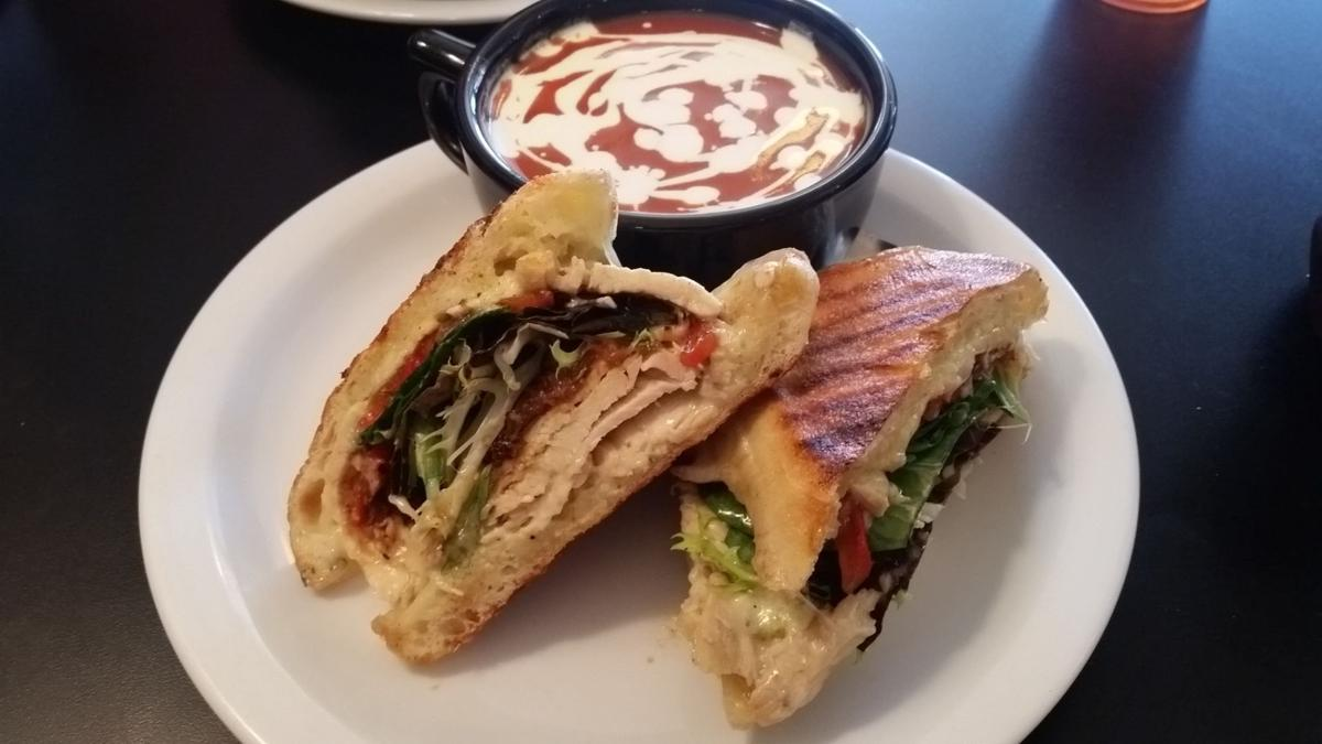 Flappers chicken panini