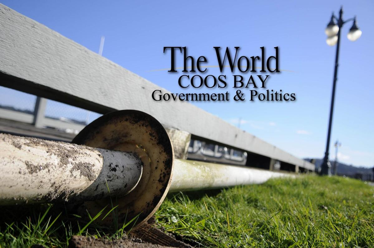 Coos Bay Government and Politics STOCK