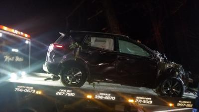 Fatal car crash on Highway 38