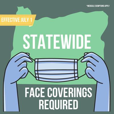 Gov. Brown extends face coverings requirement to entire state