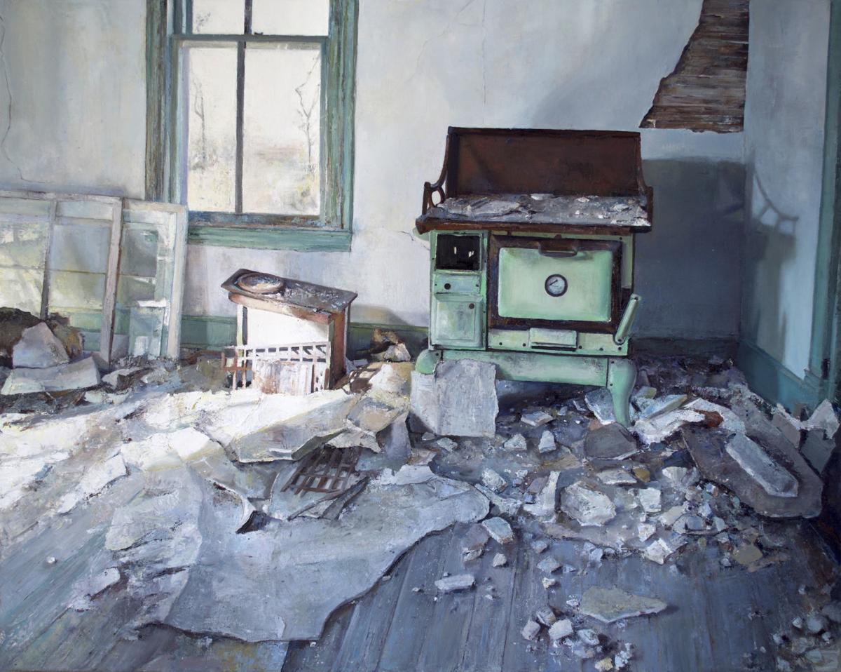 """""""Captain Foxwell's: Foxwells, VA"""" painting by Livia Erwin."""