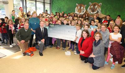 100 Strong Bandon donates to Bandon Educational Foundation